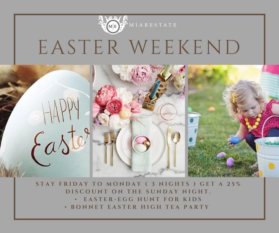 Easter at Miarestate